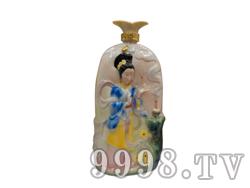 青花瓷工艺品系列-5斤珐琅四大美女(西施)