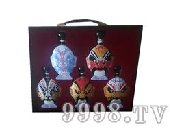 青花瓷工艺品系列-5斤脸谱