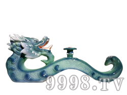 青花瓷工艺品系列-5斤如意龙