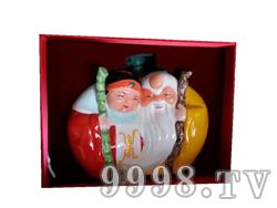 青花瓷工艺品系列-5斤寿公寿婆
