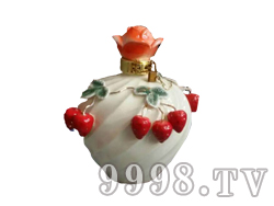 青花瓷工艺品系列-8斤珐琅草莓