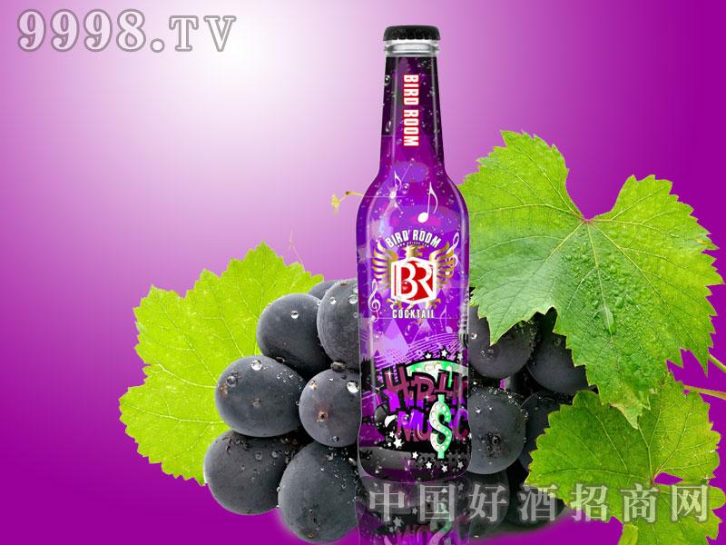 百轮紫葡萄味白兰地鸡尾酒