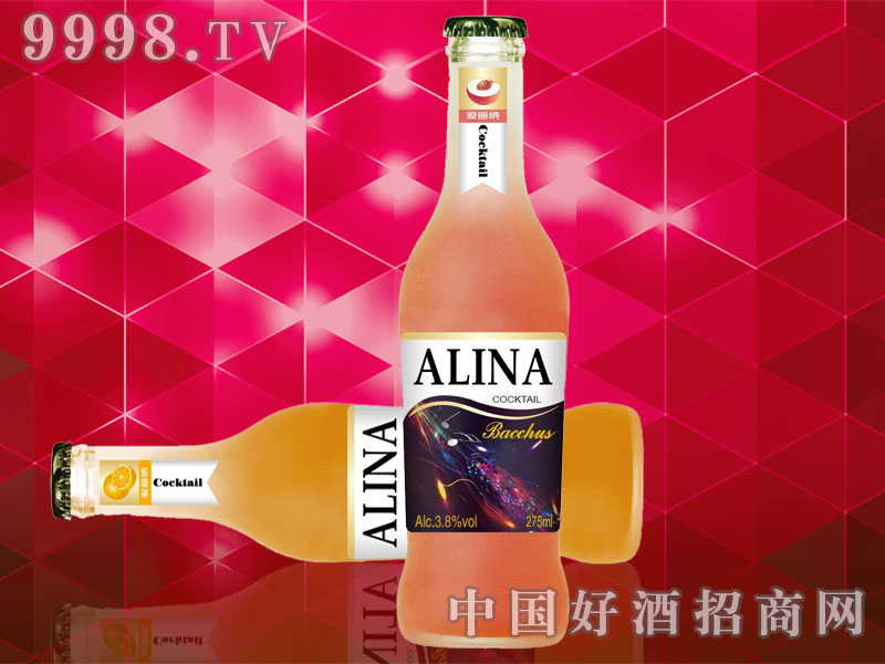 爱丽纳鸡尾酒-水蜜桃味+橙味