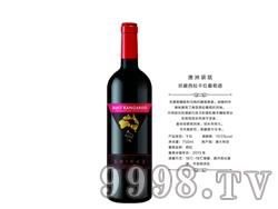 澳洲袋鼠珍藏西拉干红葡萄酒