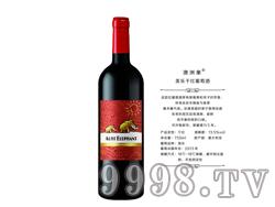 澳洲象美乐干红葡萄酒