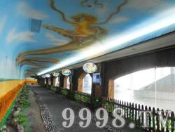 十二生肖园实景(走廊)