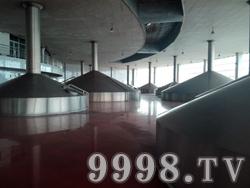 泰山啤酒厂区(莱芜)内部