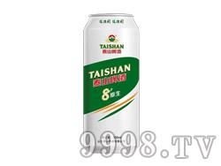 泰山8度原生啤酒(500ml×12)