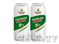 泰山8度原生啤酒500ML