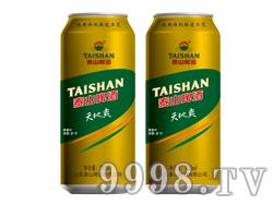 泰山啤酒天地爽500ML