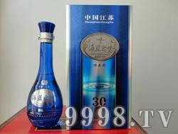 江苏洋河海蓝之梦酒30 52度