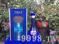 江苏洋河海蓝之梦酒礼盒30