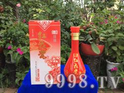 红花瓷 花开富贵