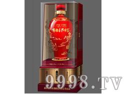 孔府家酒儒雅香-中国红