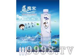 益身堂苏打水饮料500mmlx24瓶(蓝莓味)