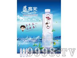 益身堂苏打水饮料500mmlx24瓶(红茶味)