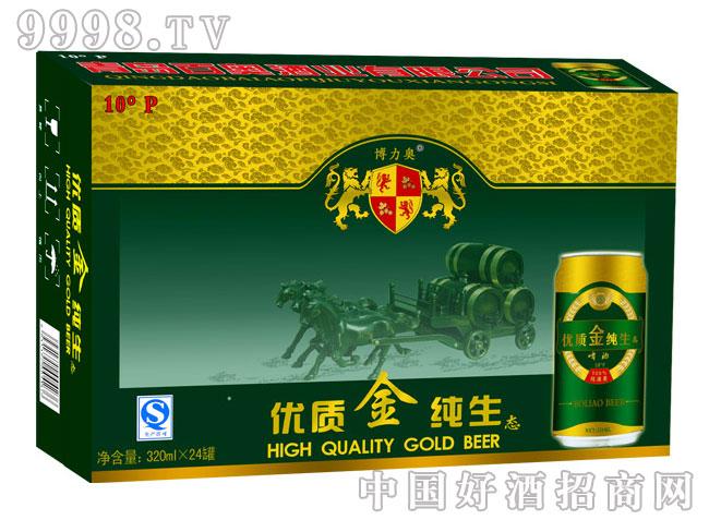 优质金纯生啤酒