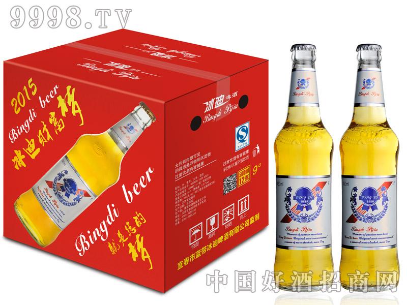 9度500ML冰迪啤酒纯啤