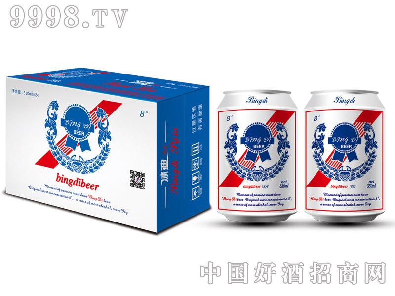 8°330ml冰迪啤酒易拉罐