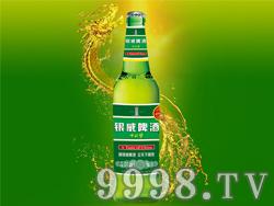 500ml银威啤酒中国梦--青瓶