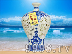 台湾臻宝高粱酒-窖藏原浆20(52°1500ml)