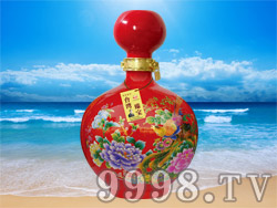 台湾臻宝高粱酒-窖藏原浆20(52°2500ml)