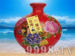 台湾臻宝高粱酒-窖藏原浆20(52°5000ml)