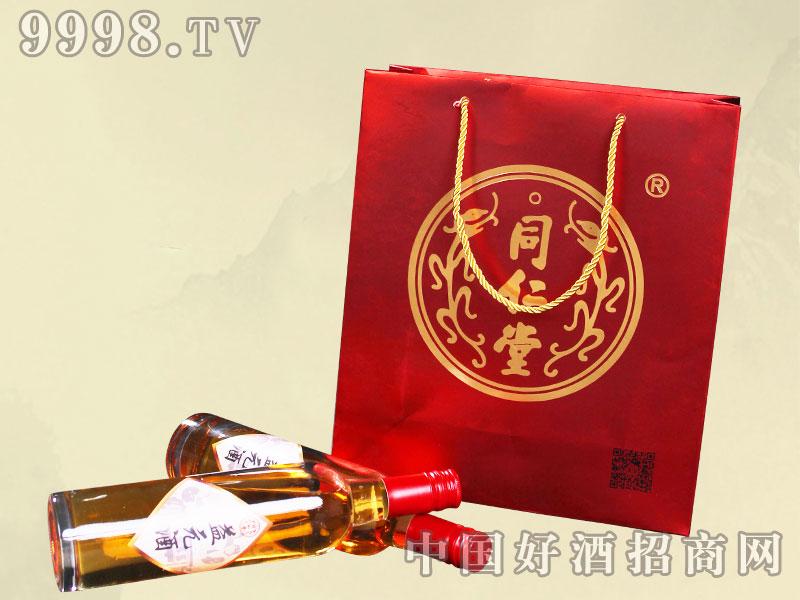 同仁堂益元酒500ml礼盒袋-保健酒招商信息
