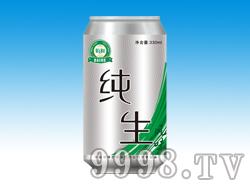 佰和纯生啤酒330ml罐装