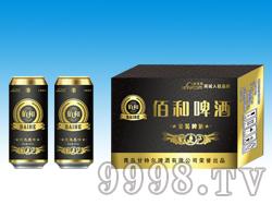佰和金装啤酒500ml黑箱