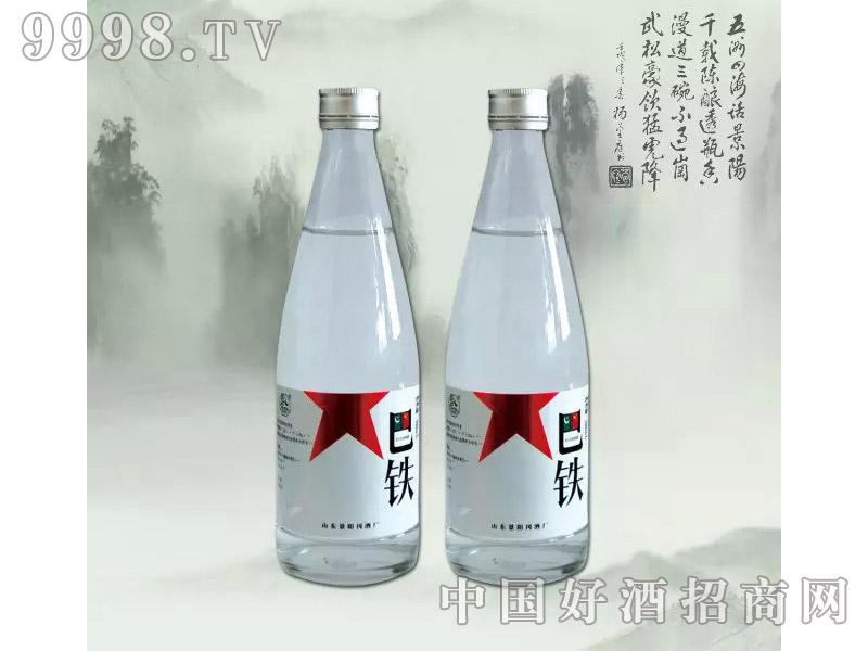景阳冈巴铁酒38度500ml浓香型白酒
