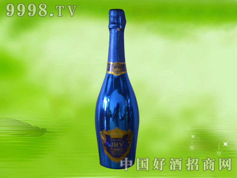 聚泓源蓝莓味起泡酒