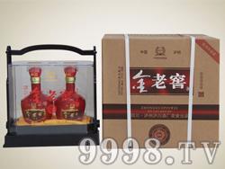 金老窖(两瓶装水晶盒)