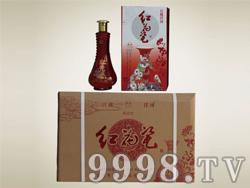 洋河・红花瓷(珍藏30)