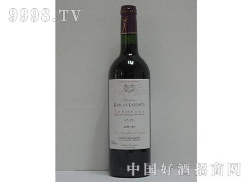 波尔多拉枫达干红葡萄酒2010