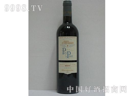 梅多克佩隆桥酒庄2008干红葡萄酒
