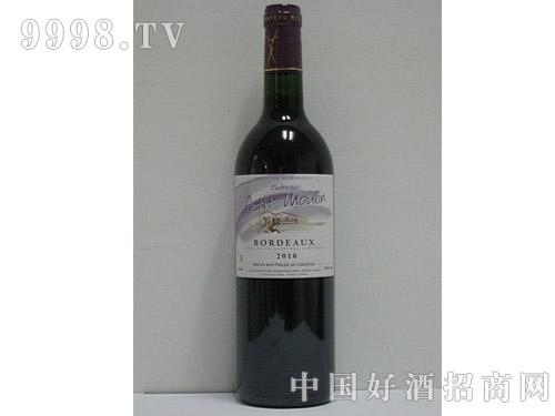 小磨坊波尔多干红葡萄酒2010