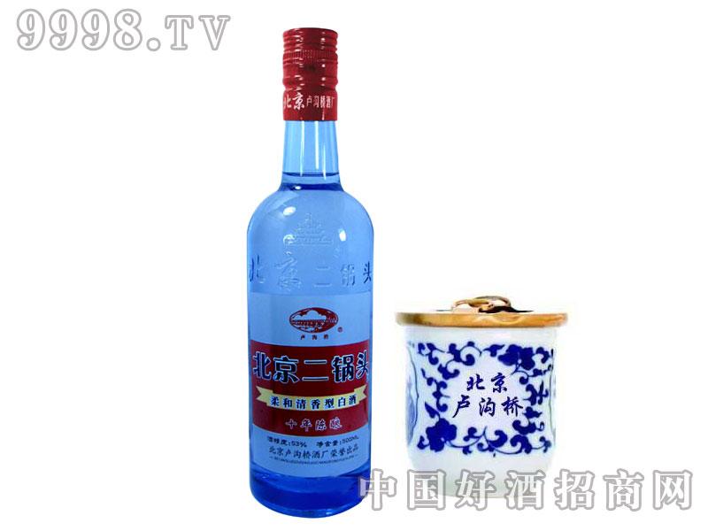 蓝瓶二锅头53°500mL