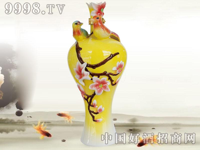 五福人家酒(鸳鸯黄瓶)