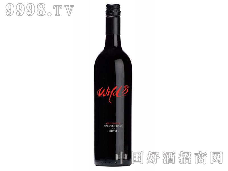 8号红牌设拉子红葡萄酒2009