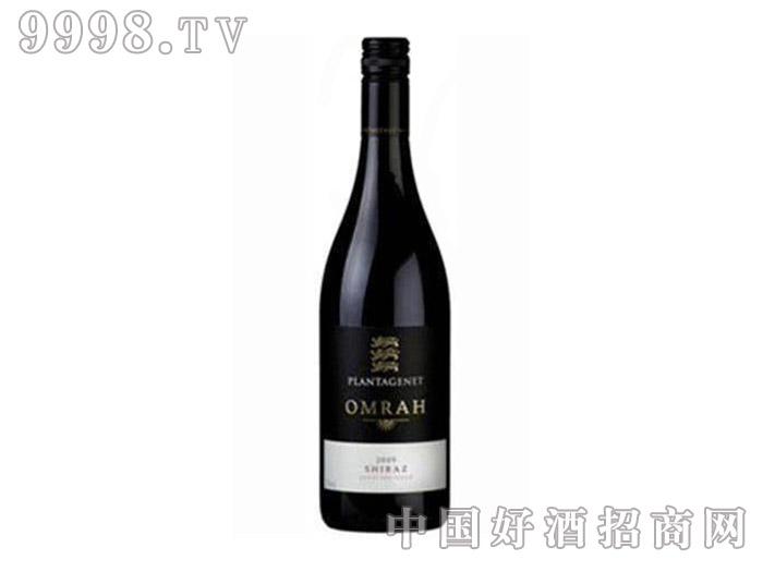 狮子王(金雀花王朝)奥玛设拉子干红葡萄酒2009