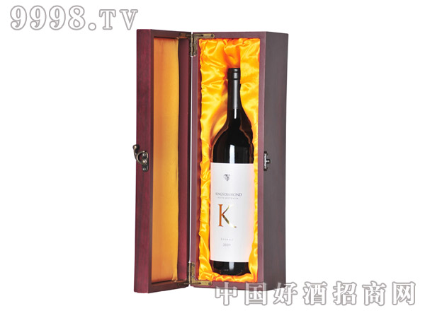 k宝石设拉子干红葡萄酒2009