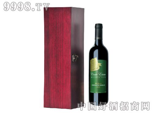 康特庄园夏纳歌海珊设拉子干红葡萄酒2006
