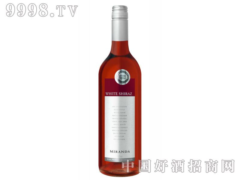 米兰达白设拉子玫瑰红葡萄酒2004
