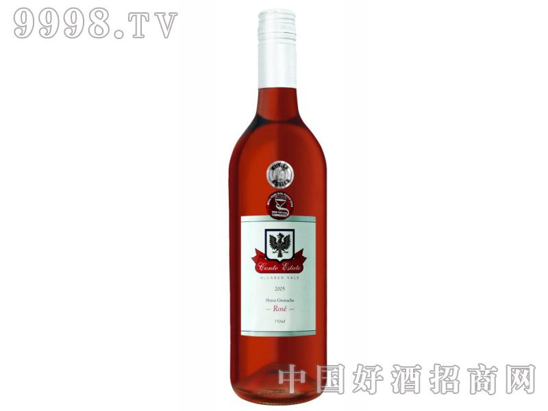 康特庄园设拉子歌海珊玫瑰红葡萄酒2005