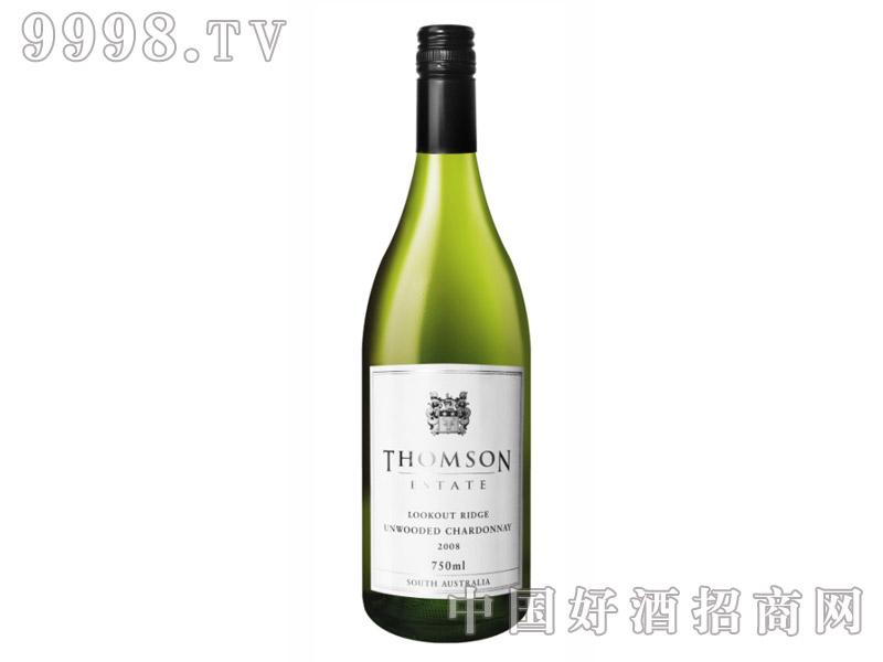 汤姆森庄园远山霞多丽干白葡萄酒2008