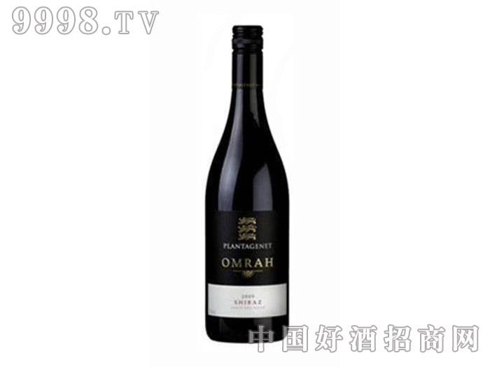 狮子王(金雀花王朝)奥玛设拉子干红葡萄酒14.5°2009