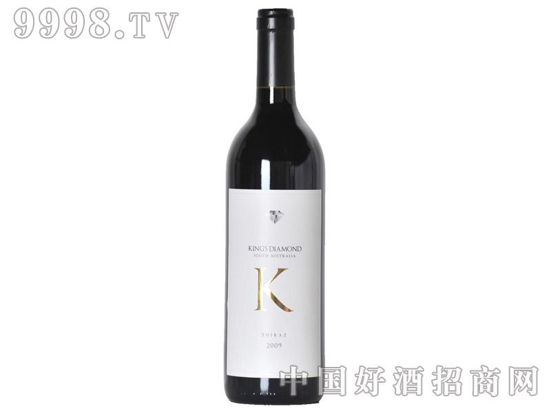 K宝石设拉子干红葡萄酒14°2009