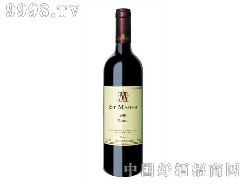 圣玛丽亚梅洛干红葡萄酒13.5°2003