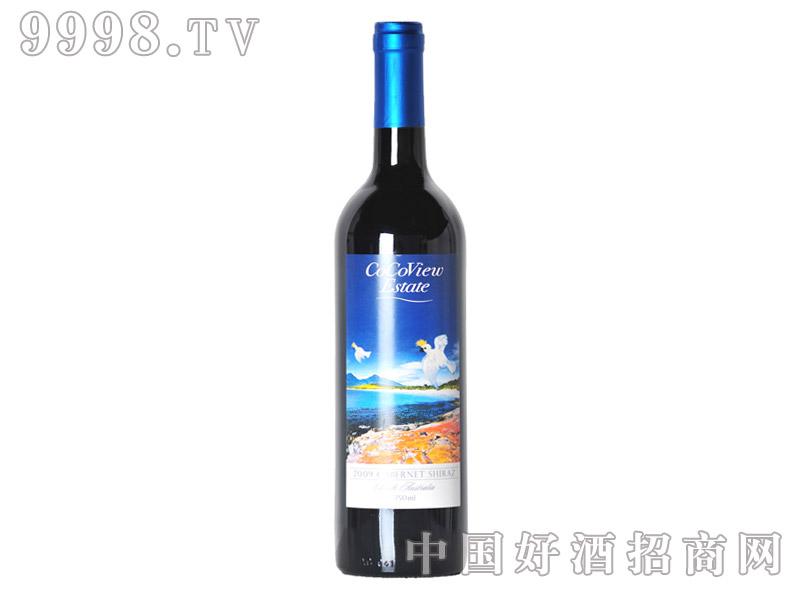 白鹰脊加本力设拉子干红葡萄酒14°2009